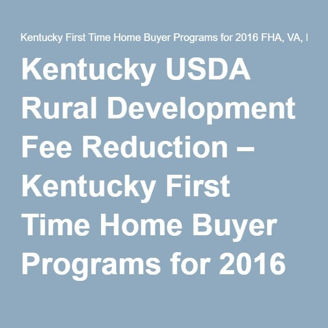 Fha first time home buyer program-1076