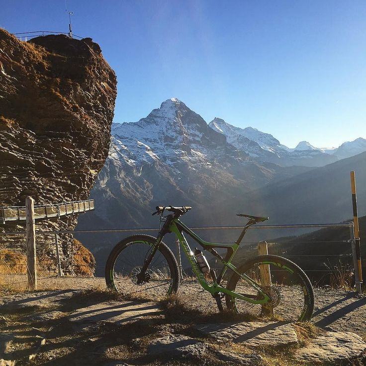 After Sunday the MTB Disney Land weeks start when all the cable cars in the region go on revision. Will have the mountain to myself :)     #bike #ride #trail #singletrails #alltomyself #mine #cannondale @tempo_sport.ch