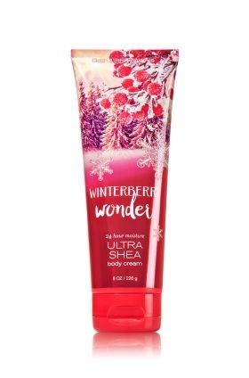Winterberry Wonder Ultra Shea Body Cream - A fresh winter blend of red winterberry, ruby apple & sparkling cranberry