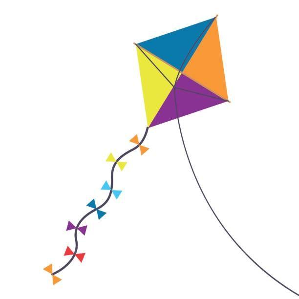 Best Kite Illustrations Royalty Free Vector Graphics Clip Art Istock Free Vector Graphics Vector Free Illustration