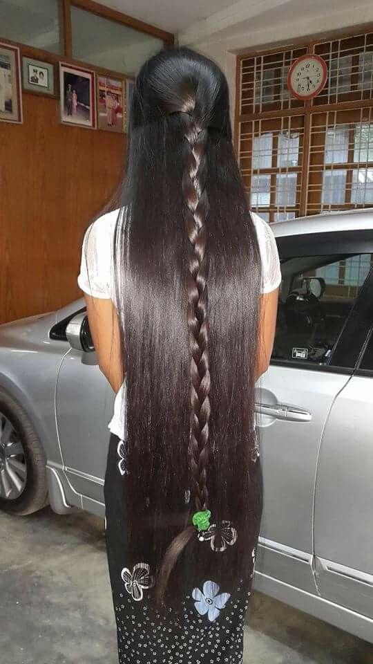 Beautiful Long Amp Shiny Hair Uvia S Beautiful