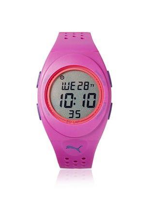 42% OFF PUMA Unisex PU911012003 FAAS Purple/Grey Rubber Watch