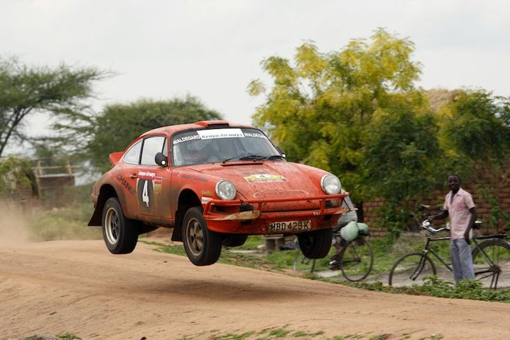 Porsche 911 of Bjorn Waldegard, East African Safari Classic Rally