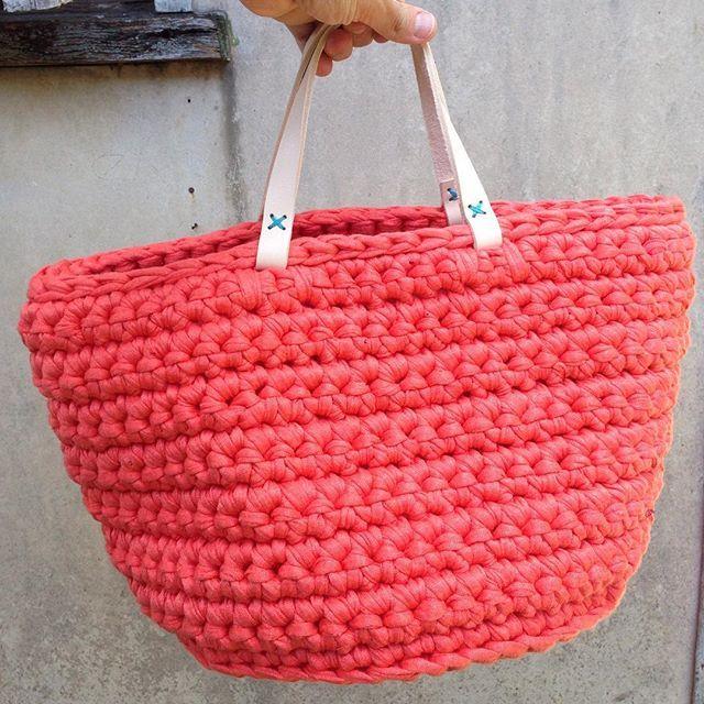 трикотажная пржа сумка
