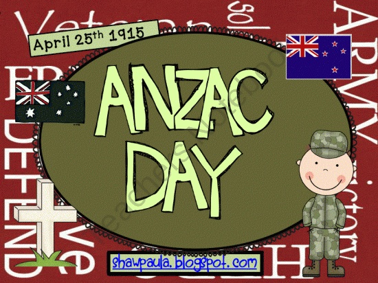 ANZAC Day from Paulas Place on TeachersNotebook.com (31 pages) - Contents – 31 pages Background notes about ANZAC Day Suggested books to read – 5 books Word Work - How many words can you make? - Venn Diagram on flags Work on Writing - My thoughts about ANZAC Day - Recount ANZAC Day March - A wreath - Symbols Readin