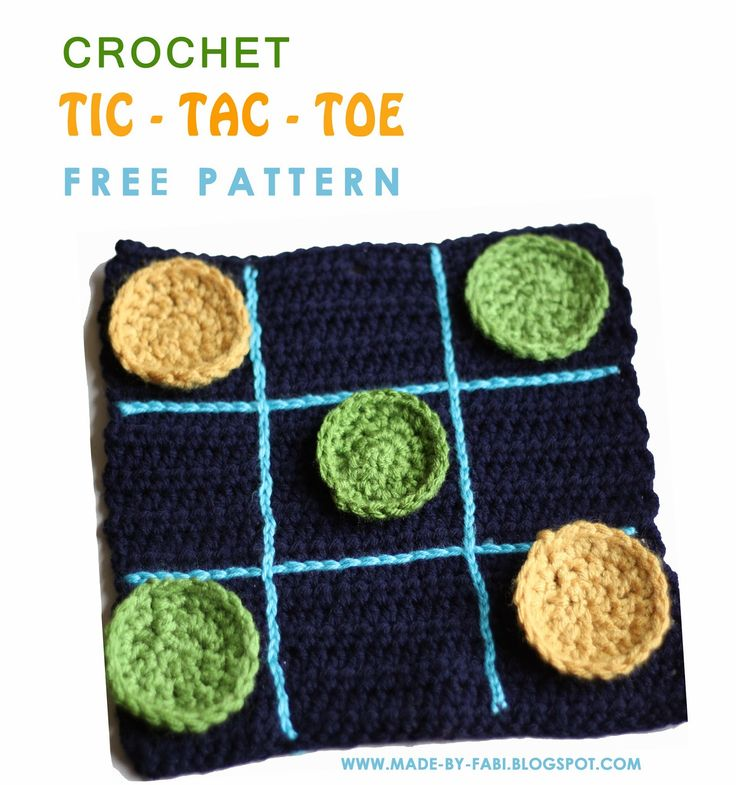 Crocheting Games : ... stitches crochet inspirations crochet tic how to crochet crochet