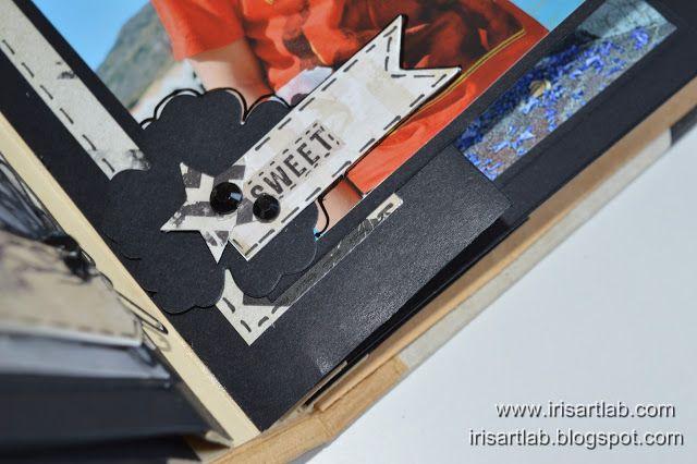 """Scrapbooking in Italy by Iris Art Lab: CORSO SCRAPBOOKING IN IATALIA A PALERMO """"MINI ALBUM FOTOGRAFICO """" 2015 Informazioni aggiornate"""