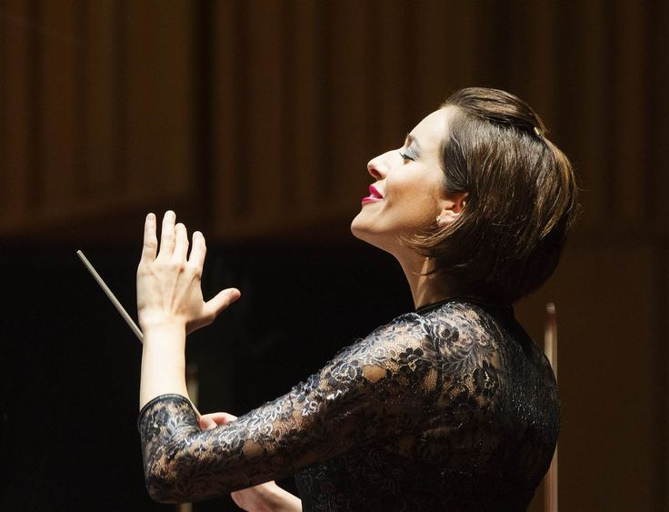 Conductor and pianist Alondra de la Parra is in a league of her own. And come next year, when she steps onto the podium as the first female chief conductor and musical director of the Queensland Symphony Orchestra, one of Australia's three largest orchestras, she will live in a more rarefied space—one of the few females directing a major orchestra.