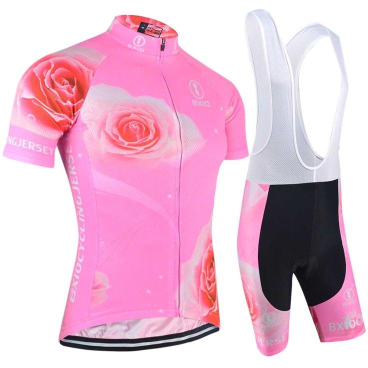 Hot Sale Fluorescence Women Cycling Sets Bxio Brand Bicycle Short Sleeve Road Bike Clothing Roupas De Ciclismo Equipacion 121