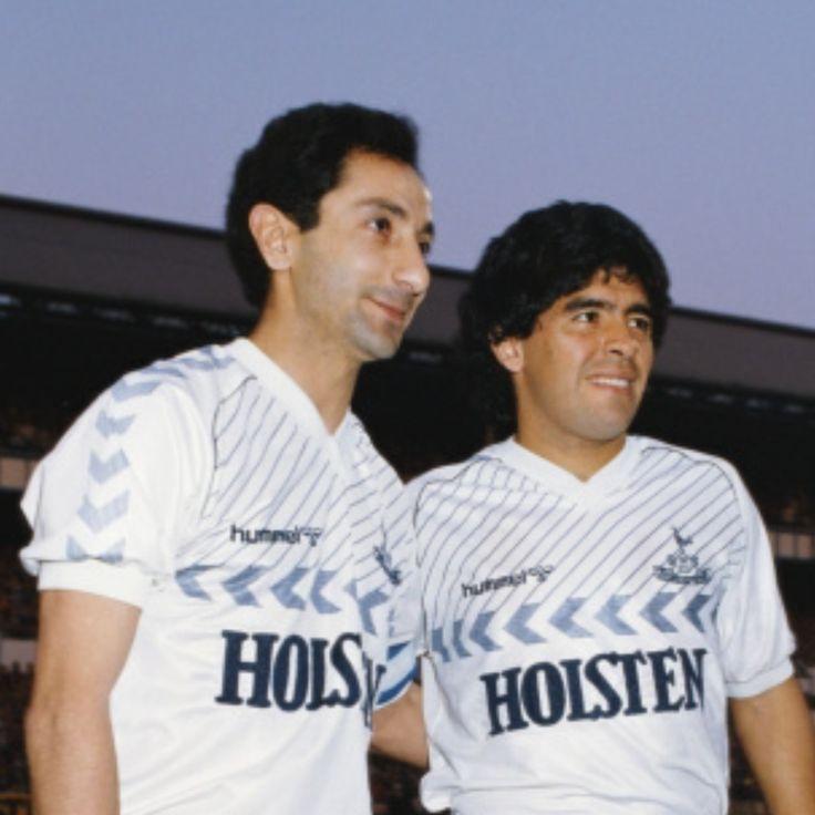 Osvaldo Ardiles and Diego Maradona