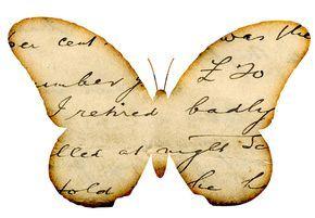 Crea unas bellas y delicadas mariposas de aspecto antiguo o vintage. Hacerlas es realmente fácil y todo depende de que el papel que uses ten...