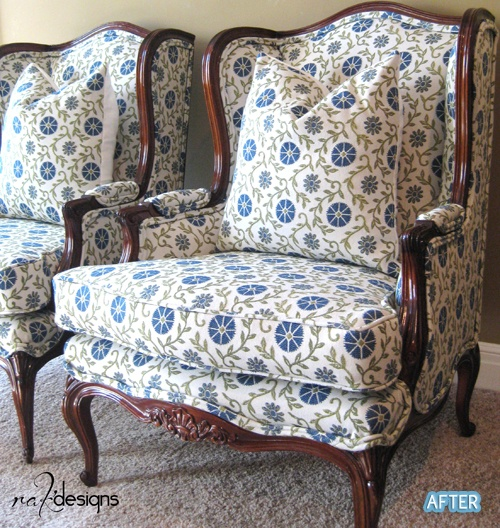 I. Love These Chairs! I Have To Learn To Reupholster!