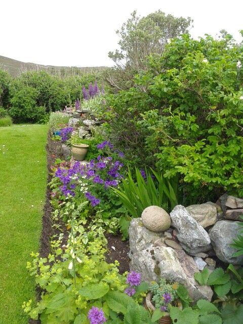 Shetland flower border