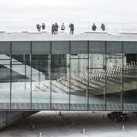 The Danish Maritime Museum's subterranean new home by Bjarke Ingels Group | Architecture | Wallpaper* Magazine