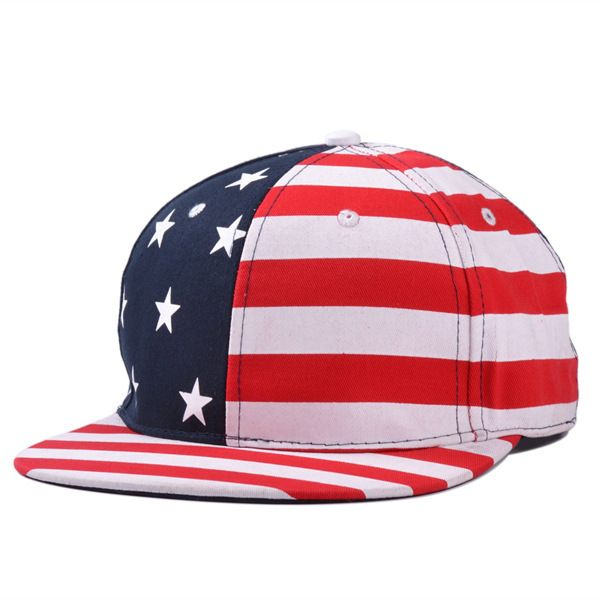 estate e autunno 2014 lettera usa bandiera cappello snapback cap americano(China (Mainland))