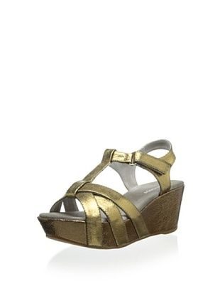 60% OFF Antelope Women's Wedge Sandal (Bronze)