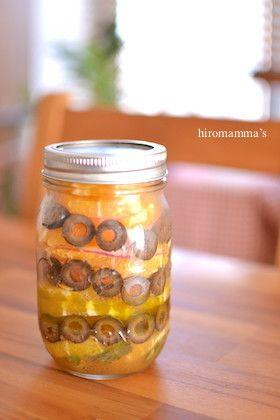 オレンジとオリーブのメイソンジャーサラダ by HIROマンマ ...