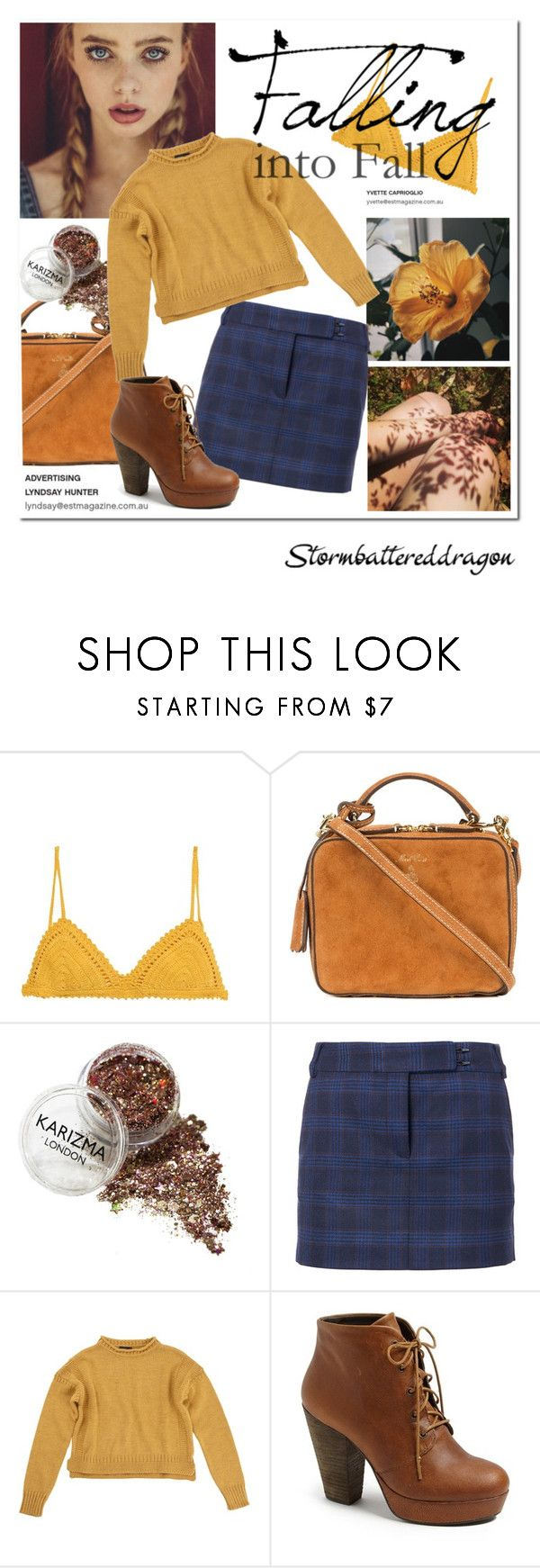 """""""Meet November"""" by stormbattereddragon ❤ liked on Polyvore featuring SHE MADE ME, Mark Cross, TIBI, Topshop and Steve Madden"""