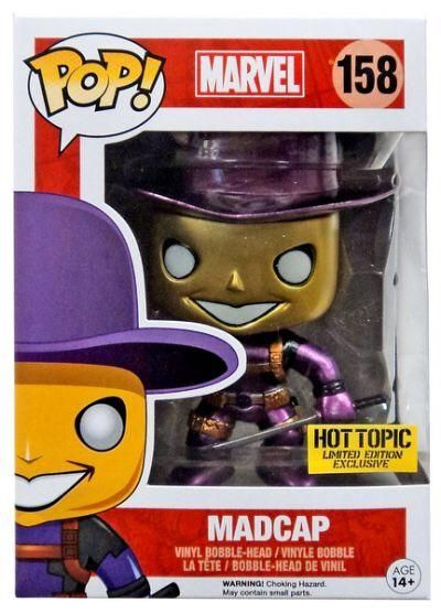 Funko Pop Marvel Madcap (Metallic)