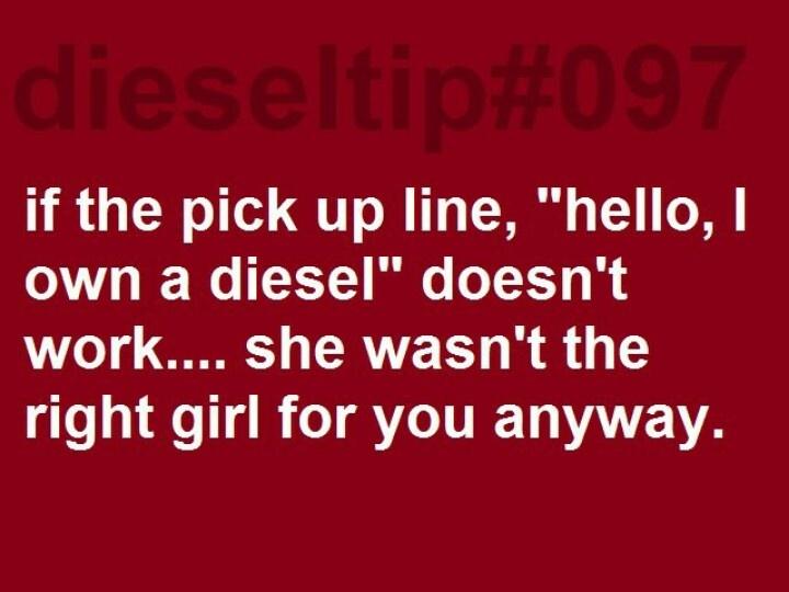 Diesel tip!!