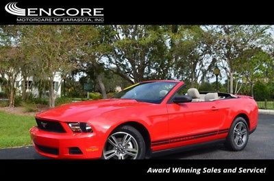 eBay: 2010 Ford Mustang V6 2010 Ford Mustang V6 34,706 Miles Torch Red Convertible 4.0L V6 CYLINDER 5-Speed #fordmustang #ford