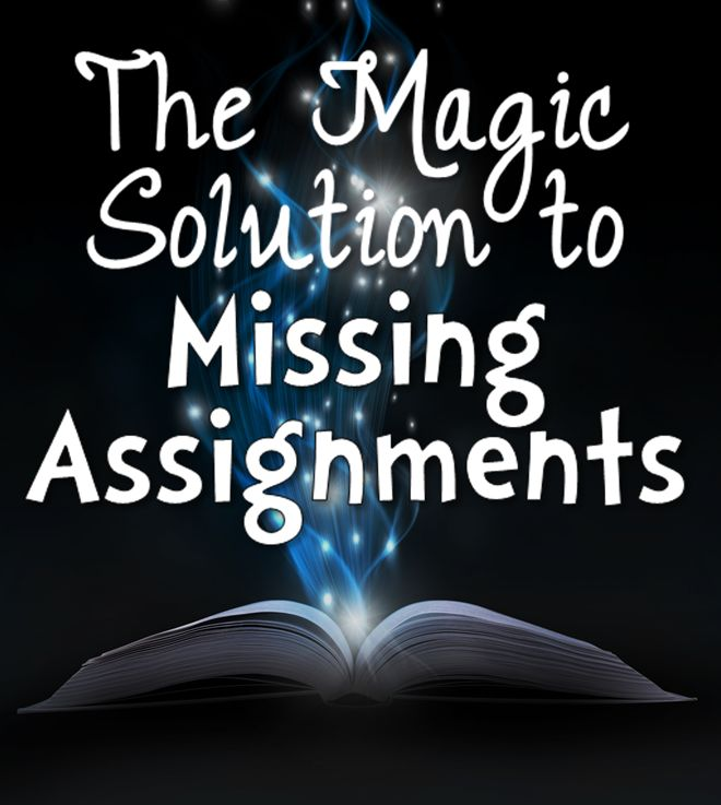 Do you have a problem with kids not completing their work during the week? Check out this solution... it works like magic! Download a nice freebie, too!