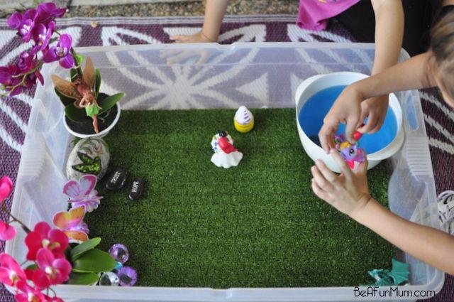 Imaginative Play Scene — A Castle Garden