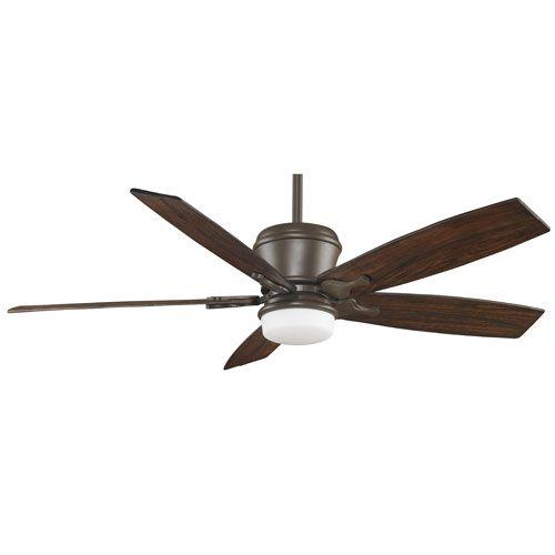Sandella Oil Rubbed Bronze 60 Inch Ceiling Fan With Walnut Carved Blades Fanimation Stem M
