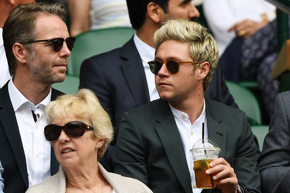via BBC Tennis | Twitter : It's Pimms O'Clock for @ NiallOfficial at Wimbledon.  Cheers!