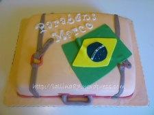 torta valigia brasile