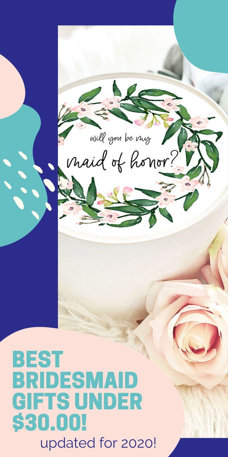 Cute custom bridesmaid gift ideas under 3000 save on