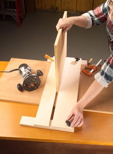 Dado Cut Router Jig Plan Teardrop Madness Woodworking