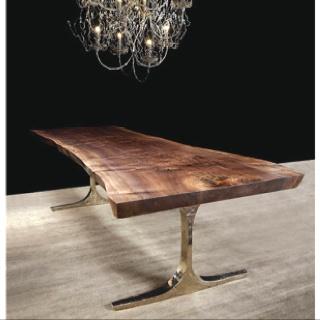 Hudson live edge wood dining table.