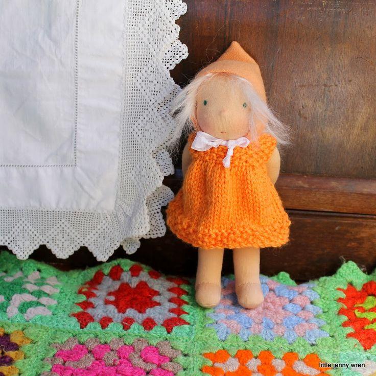 Little Jenny Wren Poppet doll