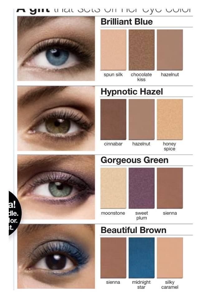 Best looks by eye color! TaylorTolbert@marykay.com