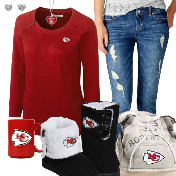 Kansas City Chiefs Fashion - Cozy Chiefs Sunday