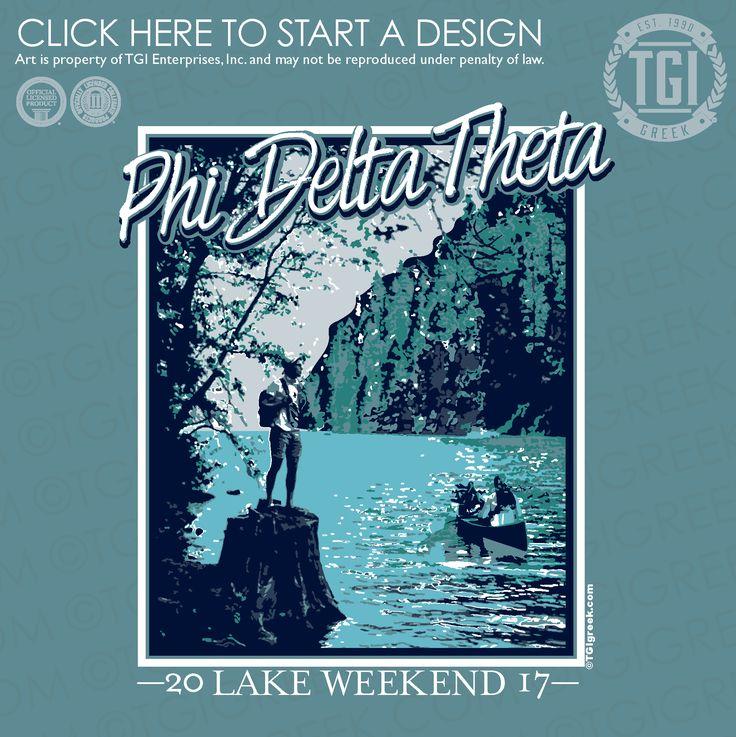 Phi Delta Theta | ΦΔΘ | Lake Weekend | Formal | TGI Greek | Greek Apparel | Custom Apparel | Fraternity Tee Shirts | Fraternity T-shirts | Custom T-Shirts