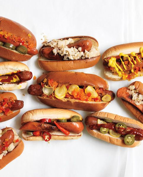 Hotdog! those hot dogs definitely deserve a spot on your table.