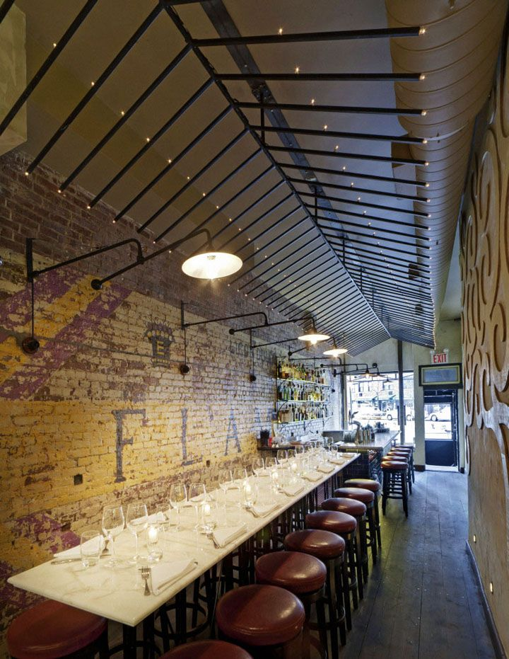 Barrio 47 tapas restaurant by Bluarch Architecture, New York store design