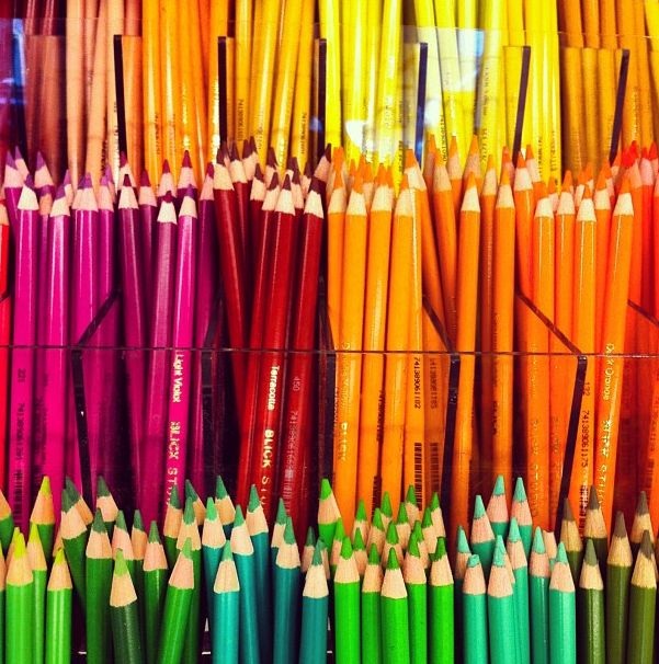 Add some color to your life! Create crafts with the entire family.