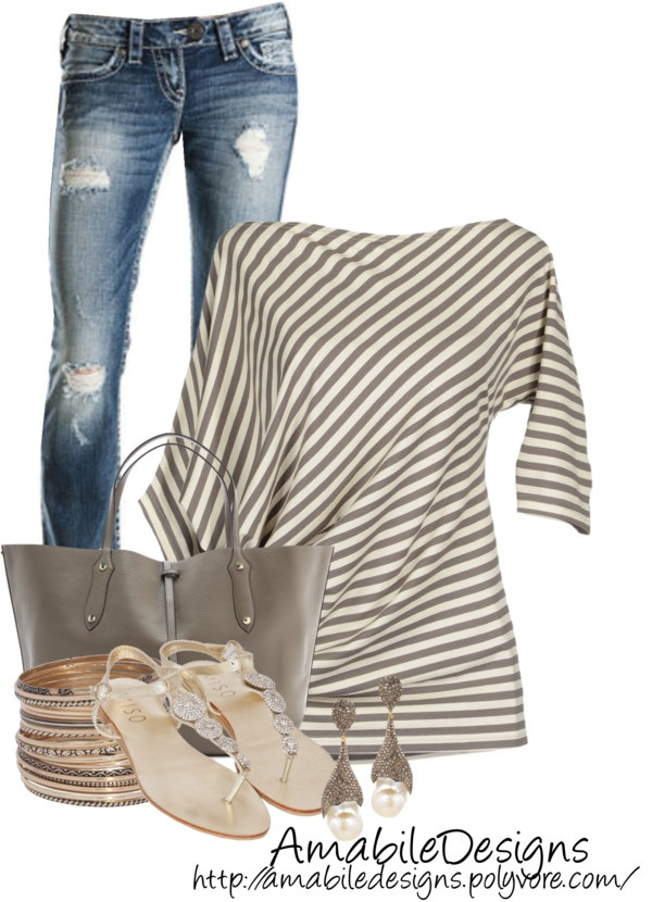 """""""Summer Date"""" by amabiledesigns on Polyvore"""