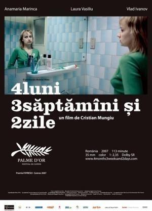 Rumanía, durante los últimos días del comunismo. Otilia y Gabita son estudiantes y comparten habitación en una residencia en Bucarest. Gabita está embarazada, pero no quiere tenerlo. Las jóvenes acuerdan un encuentro con un tal Mr. Bebe en un hotel barato, para que le practique un aborto ilegal.