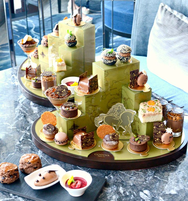GODIVA Chocolatier 「Saveurs Du Monde」Chocolate Afternoon Tea @ Cafe 103
