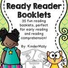 """Ready Reader Booklets are simple booklets, """"ready"""" for you and help kids get """"ready"""" to read!! These sheets are perfect because they not only focus..."""