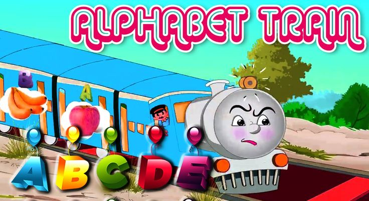 Alphabet Food Train Song & More Kids Animation Movie Popular 2016 Songs ...