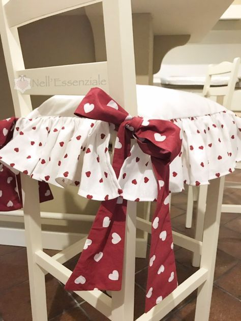 Cuscini per sedie in stile romantico | shabby chic | Pinterest ...