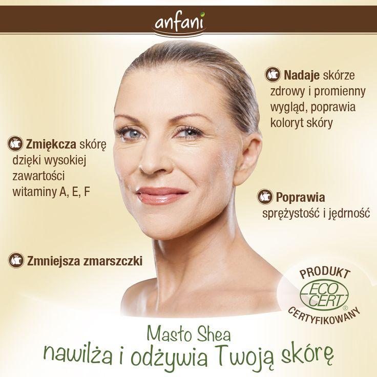 Masło Shea nawilża i odżywia Twoją skórę: • zmiękcza skórę dzięki wysokiej zawartości witaminy A, E, F • nadaje skórze zdrowy i promienny wygląd, poprawia koloryt skóry • zmniejsza zmarszczki • pomaga pielęgnować delikatną skórę niemowląt • poprawia sprężystość i jędrność   www.anfani.pl  #maslo_shea #maslo_karite #maslo_shea_nierafinowane #maslo_shea_na_twarz