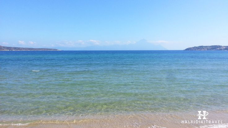 #Sykia #beach in #Halkidiki. Visit www.halkidikitravel.com for more info. #HalkidikiTravel #travel #Greece