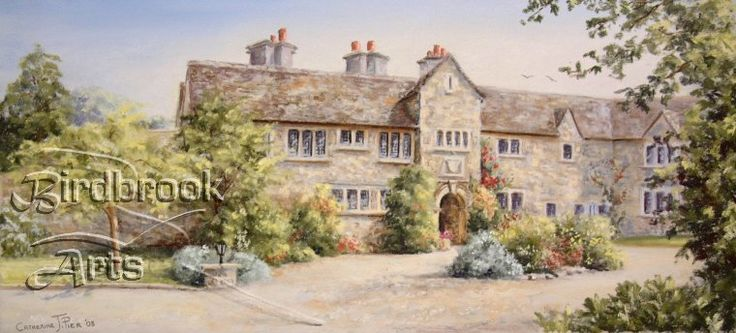 Pear Tree Hotel, Purton by well-known artist Catherine Pier