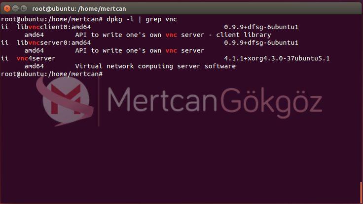 Ubuntu 14.04 Üzerine VNC Kurulumu